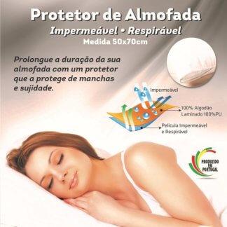 Cartaz do protetor de almofada